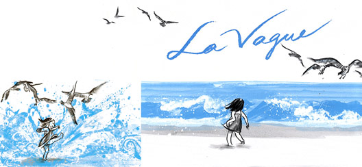 La vague de Suzy Lee