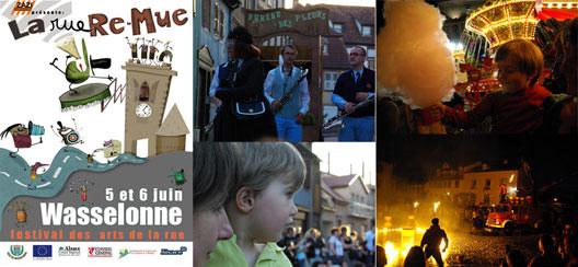La rue re-mue - festival des arts de la rue à Wasselonne